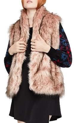BCBGeneration Faux Fur Vest