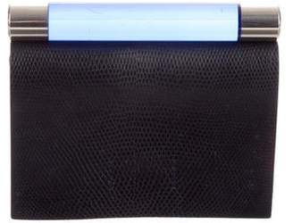bc970a0bca Calvin Klein Collection Embossed Leather Clutch