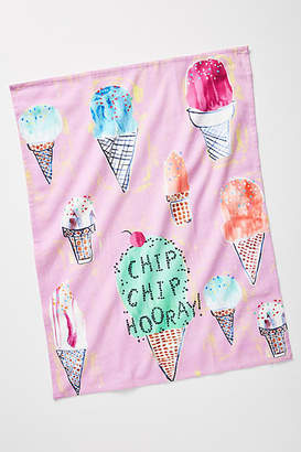 Anthropologie Chip Chip Hooray Dish Towel