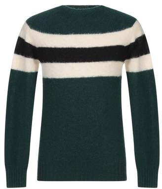 5439b9ed56c90c Mens Emerald Green Sweater - ShopStyle UK