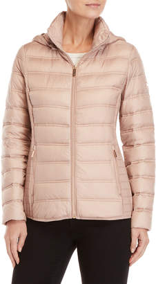 MICHAEL Michael Kors Packable Cinched Down Jacket