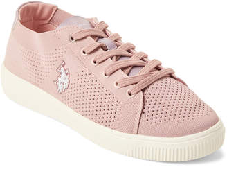 U.S. Polo Assn. Blush Davina Knit Low-Top Sneakers