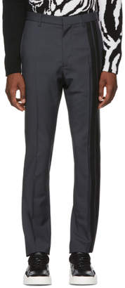 Valentino Grey Wool Trousers