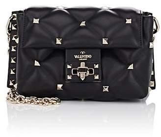 Valentino Women's Candystud Mini Leather Shoulder Bag
