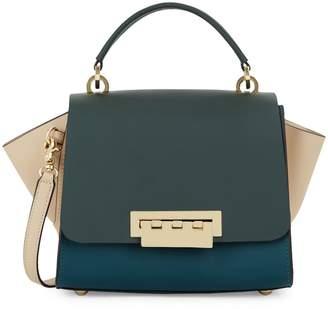 Zac Posen Eartha Colorblock Leather Top Handle Crossbody Bag