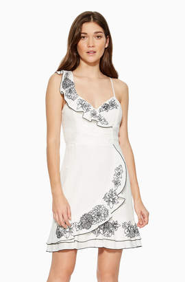 Parker Jay Embroidered Dress