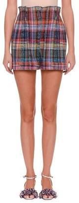 Missoni Rainbow-Check Shorts