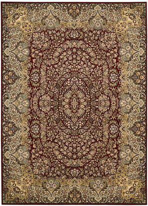 "Kathy Ireland Home Antiquities Stately Empire Burgundy 3'9"" x 5'9"" Area Rug"