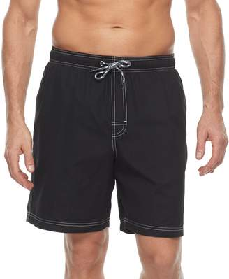 Croft & Barrow Men's Solid Swim Trunks