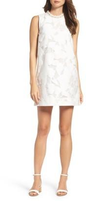 Women's French Connection Deka Lace Shift Dress $168 thestylecure.com