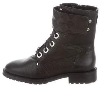 Rebecca Minkoff Leather Moto Ankle Boots