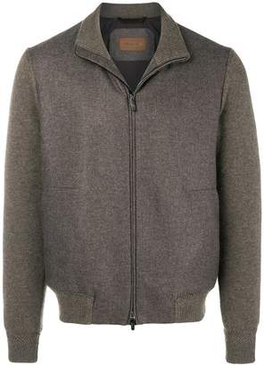 Corneliani zip up jacket