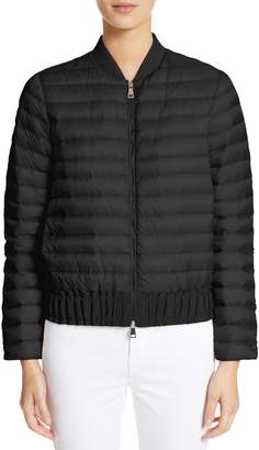 Moncler Barytine Quilted Bomber Jacket