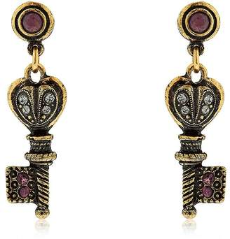 Alcozer & J Agata Key Earrings