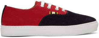 Aprix Red and Navy APR-005 Sneakers
