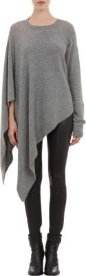 Helmut Lang Poncho-Sweater