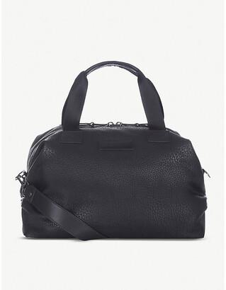 Tiba & Marl RAF mini faux-leather holdall, Black