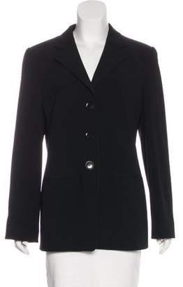 Giorgio Armani Wool Structured Blazer