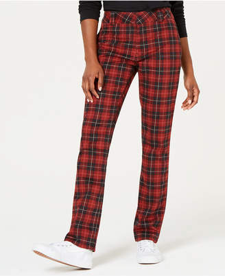 Dickies Dickie's Plaid Straight-Leg Pants