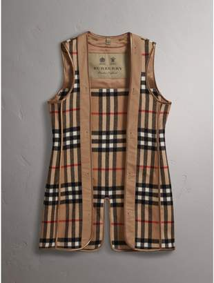 Burberry Check Cashmere Wool Warmer