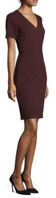 BOSS Domandia V-Neck Sheath Dress