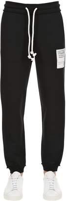 Maison Margiela Cotton Sweat Pants With Patch