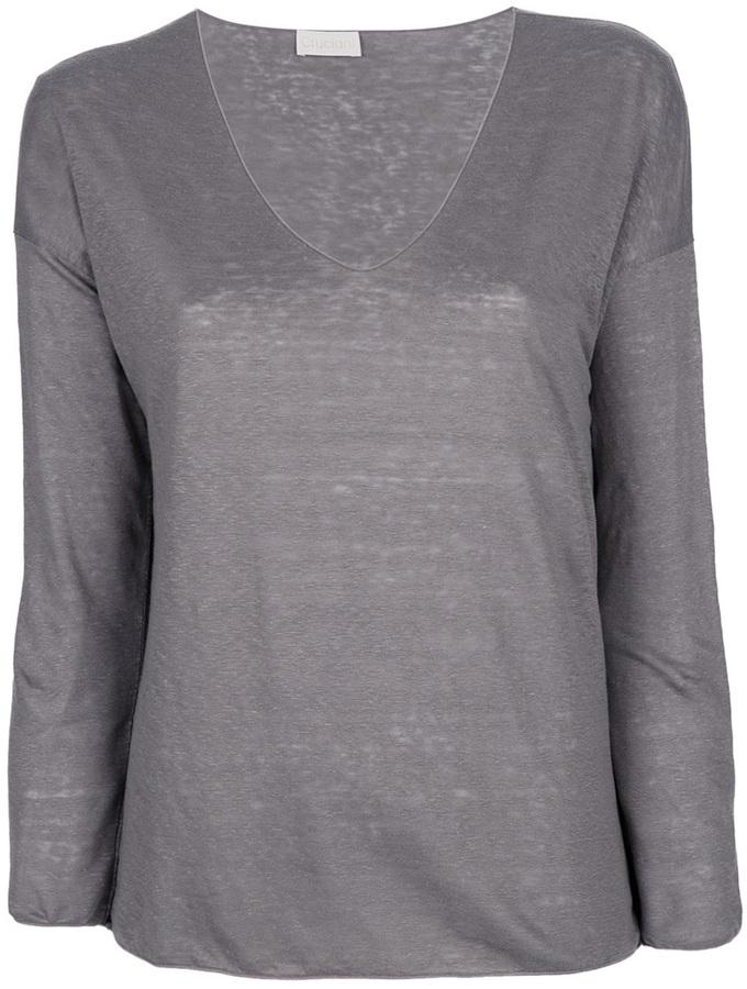 Cruciani long sleeved t-shirt
