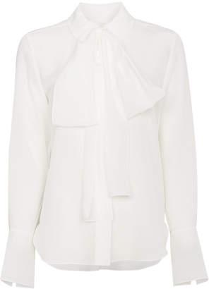 Chloé pussy bow silk blouse