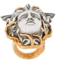 Versace Medusa finger ring