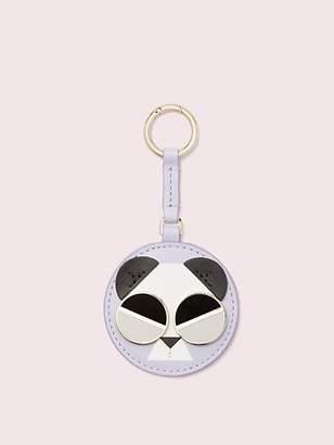 Kate Spade Spademals Gentle Panda Dangle Keychain, Frozen Lilac