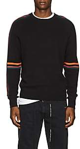 Paul Smith Men's Striped Cotton Sweater-Black