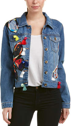 Bagatelle Embroidered Denim Jacket