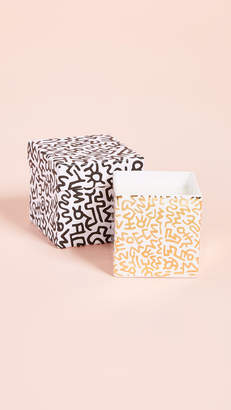 Keith Haring Ligne Blanche x Pattern Square Candle
