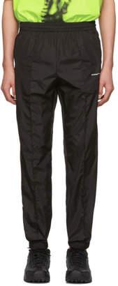 Off-White Off White Black Light Nylon Jogging Lounge Pants