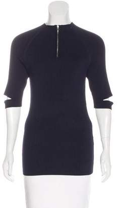 Nomia Short Sleeve Rib Knit Top w/ Tags