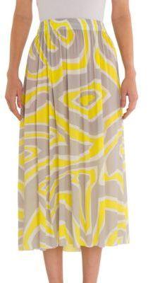 Emilio Pucci Long Jersey Skirt