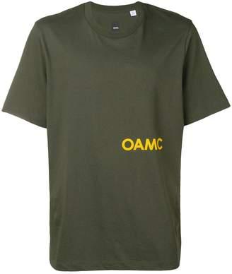 Oamc logo print T-shirt