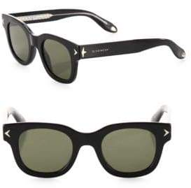 Givenchy Havana 47MM Square Sunglasses