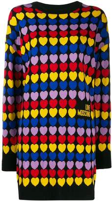 Love Moschino Cuori dress