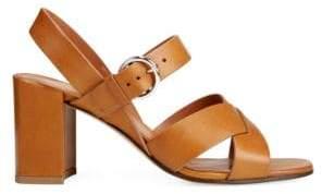 Via Spiga Women's Opal Block Heel Sandals - Black - Size 11