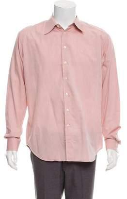 Burberry Woven Polka Dot Shirt