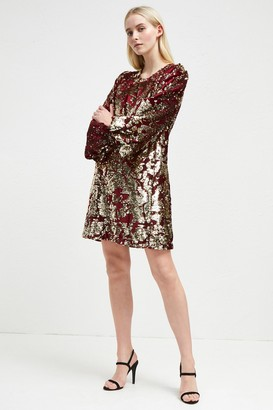 e46c94be539c French Connection Ethel Sequin Tunic Dress