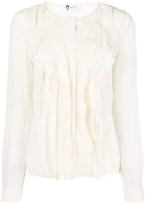 Lanvin ruffled blouse