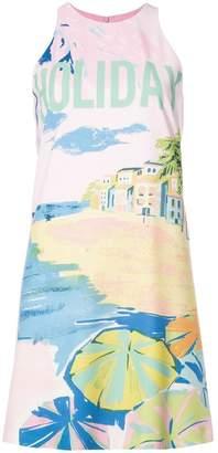 Moschino holiday print dress
