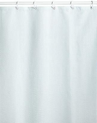 Marks and Spencer Pinstripe Seersucker Shower Curtains