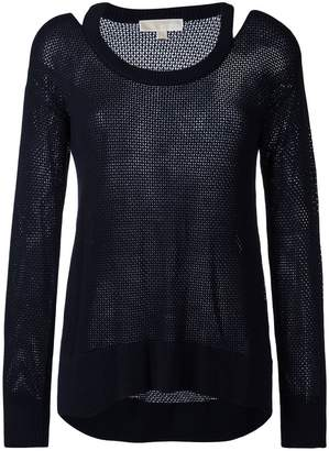 MICHAEL Michael Kors cut-out knit top