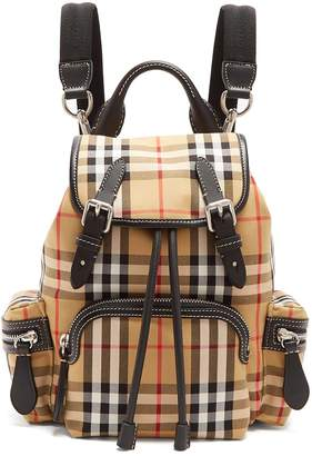Burberry Vintage-check backpack