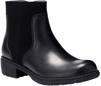 Eastland Leather Zipper Boots - Meander