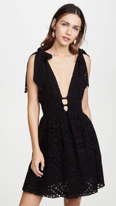 Kos Resort Eyelet Dress