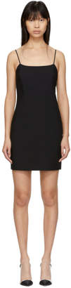 Alexanderwang.T alexanderwang.t Black Wool Mini Dress